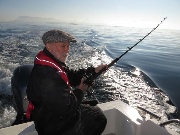 Kveitefiske utenfor Senja